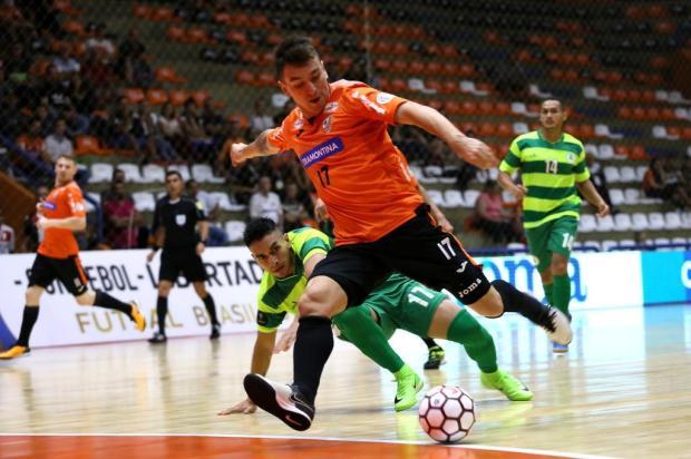 Com ACBF em quadra, Libertadores de Futsal define semifinalistas em Carlos Barbosa Ulisses Castro/ACBF,Divulgação
