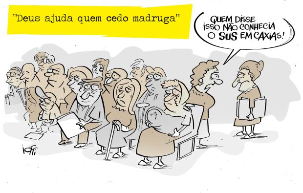 Charge do Iotti deste final de semana Iotti/