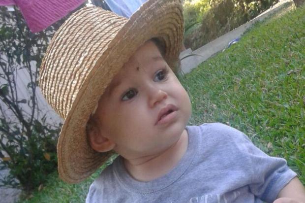 Com tumor grave, criança de Bento Gonçalves precisa de R$ 90 mil para cirurgia Acervo pessoal/Divulgação
