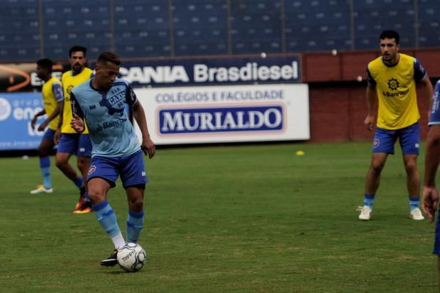 Centroavante Wesley espera casa cheia para estreia do Caxias na Série D Marcelo Casagrande / Agência RBS/Agência RBS