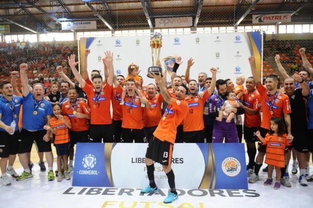 Fotos: Libertadores com título da ACBF faz Carlos Barbosa respirar ainda mais o futsal Lucas Amorelli/Agencia RBS