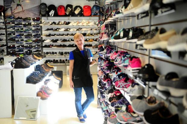 No Dia do Trabalho, conheça a vendedora Rosane de Fátima de Cézaro Diogo Sallaberry/Agencia RBS