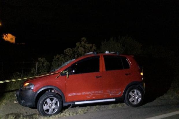 Homem morre atropelado ao atravessar a faixa correndo, na ERS-122, em Ipê Corpo de Bombeiros / Divulgação/Divulgação