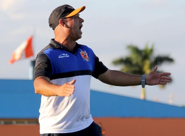 Técnico do Nova Iguaçu sabe que uma derrota para o Caxias poderá ser a sua eliminação Bernardo Gleizer / NIFC/Divulgação/NIFC/Divulgação