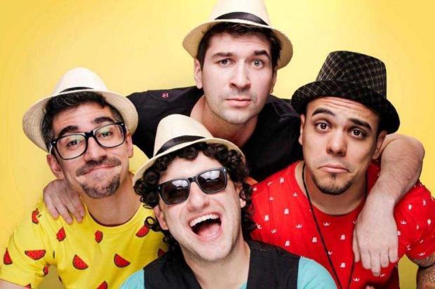 Grupo de humor Pagode da Ofensa se apresenta na sexta-feira, em Caxias Tico Produções/Diuvlgação