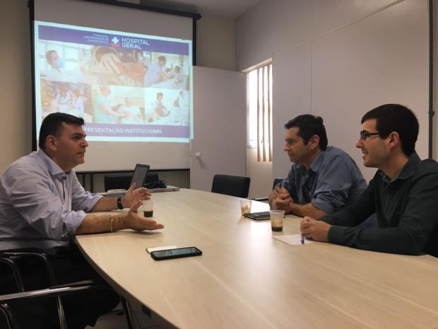 Vereador sugere convênio com RGE para auxiliar Hospital Geral, em Caxias Francis Cerutti, Divulgação/