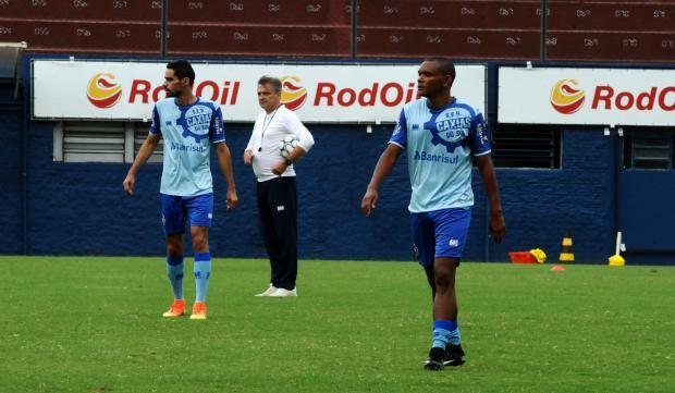 Gilson ganha titularidade no meio-campo do Caxias Lucas Amorelli / Agência RBS/Agência RBS