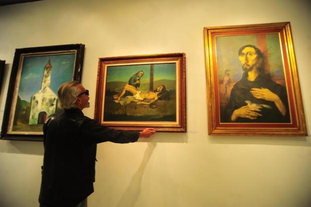 Exposição em Caxias do Sul reúne obras de Iberê Camargo, Ado Malagoli e Pedro Weingärtner Porthus Junior/Agencia RBS