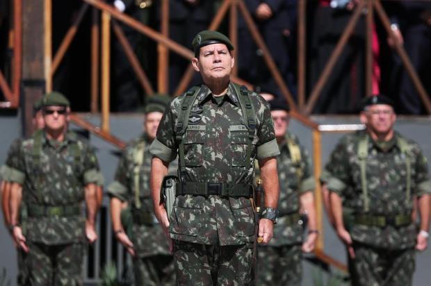 Cancelada a vinda do general Mourão a Caxias Diego Vara/Agencia RBS