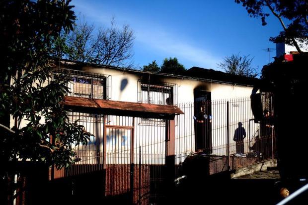 Criança morta em incêndio será sepultada nesta quarta-feira, em Caxias do Sul Lucas Amorelli/Agencia RBS