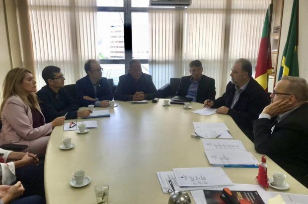 Secretário estadual da Saúde garante a vereadores que leitos do HG, em Caxias, não serão fechados Gean Zuchetti/Divulgação