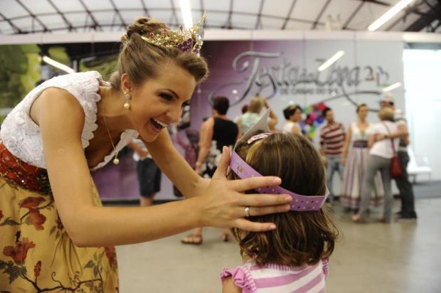 Roberta Veber Toscan é a soberana mais lembrada entre as candidatas a rainha da Festa da Uva Maicon Damasceno/Agencia RBS
