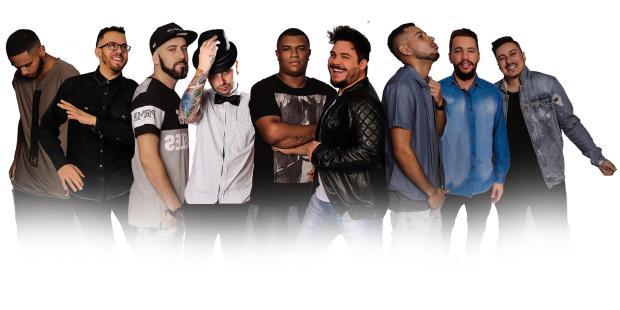3por4: Grupos Pura Curtição e Sem Razão formam grupo único que estreia nos palcos a partir desta quinta Divulgação/