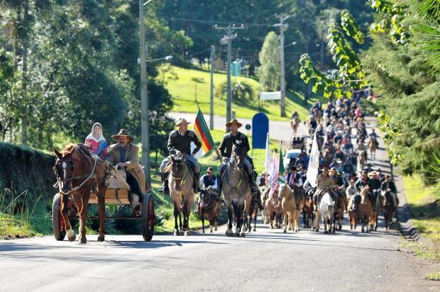 Cavalarianos e jipeiros homenageiam Caravaggio neste sábado, em Farroupilha Rafael Lopes/Divulgação