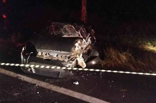 Homem morre em colisão com ônibus, em Farroupilha CRBM/Divulgação