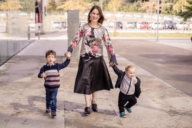 3por4: Exposição da Pole Modas exibe mamães com seus filhos Greice Araújo/Divulgação
