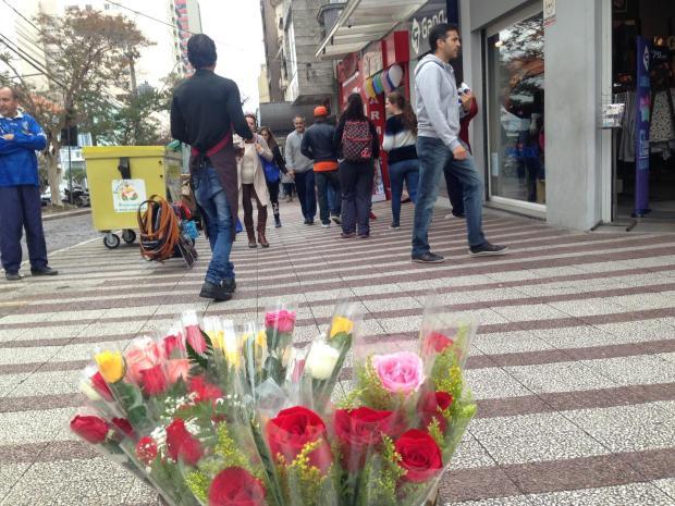 Frio de último hora faz vendas do Dia das Mães superarem expectativas em Caxias do Sul Flavia Noal/Agência RBS