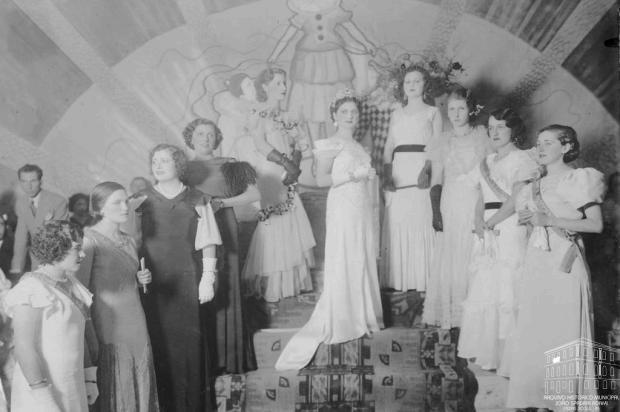 Vídeo mostra coroação e desfile de rainhas da Festa da Uva de 1934 a 1958 Acervo Arquivo Histórico Municipal João Spadari Adami/divulgação