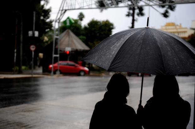 Previsão de chuva nesta manhã de quarta-feira em Caxias do Sul Lucas Amorelli / Agência RBS/Agência RBS