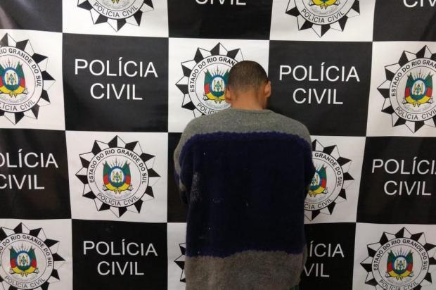 Polícia prende suspeito de feminicídio em Vacaria Polícia Civil/Divulgação