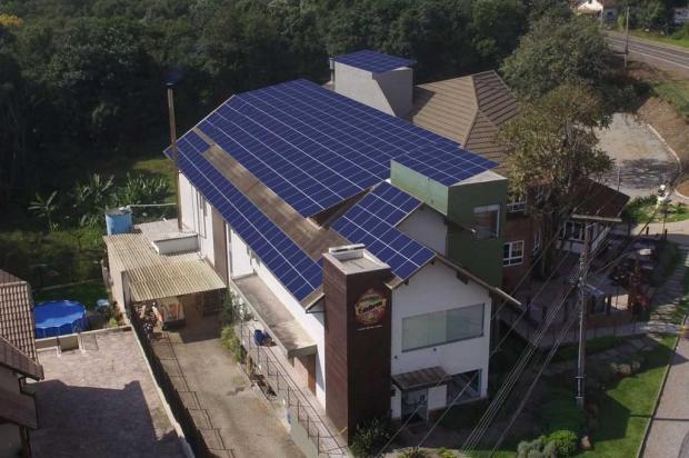 Cervejaria investe R$ 310 mil em módulos solares para gerar energia própria Andreas Schumann/divulgação
