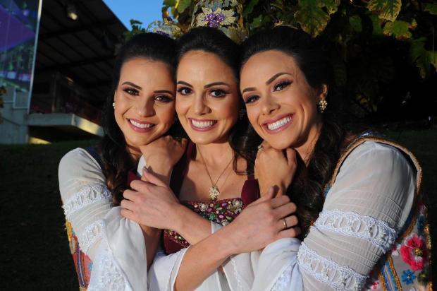 Rainha e princesas da Festa da Uva de 2016 se despedem em tom de saudade e união Felipe Nyland/Agencia RBS