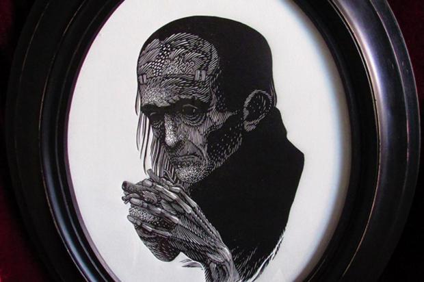 3por4: Caxiense Ale Amorin participa de exposição em homenagem a Frankenstein, em Porto Alegre Reprodução/Reprodução
