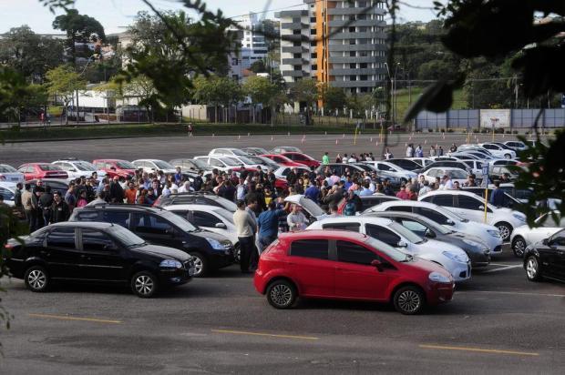Após protesto de motoristas, Uber diz que não concorda com a legislação de Caxias do Sul Marcelo Casagrande/Agencia RBS