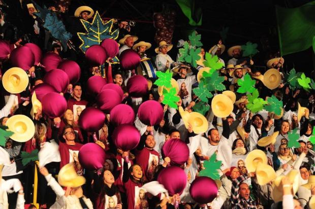 Saiba quais foram as torcidas vencedoras no evento de escolha da Festa da Uva Porthus Junior/Agencia RBS