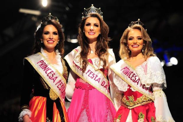 Maiara Perottoni é a nova rainha da Festa da Uva Porthus Junior/Agencia RBS