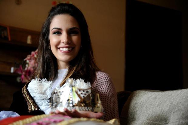 Princesa Viviane Piamolini Gaelzer quer resgatar valorização de raízes culturais e magia de Festa da Uva Lucas Amorelli/Agencia RBS