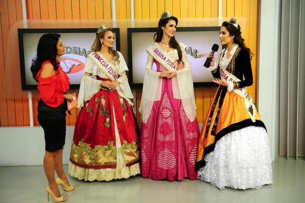 Agenda de divulgação da Festa da Uva começou apenas dois dias depois da escolha da rainha e princesas Diogo Sallaberry/Agencia RBS