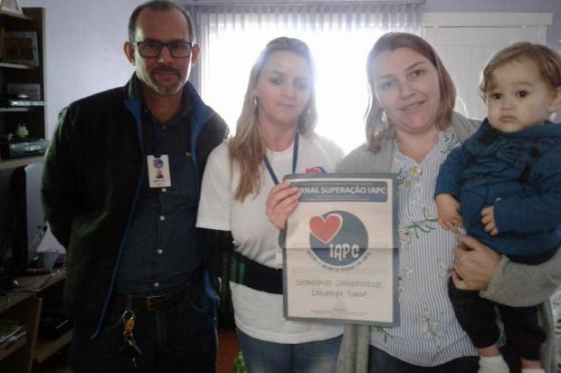 Entidade de Caxias recolhe doações de fralda e leite para criança que precisa de cirurgia com urgência Acervo pessoal/Divulgação