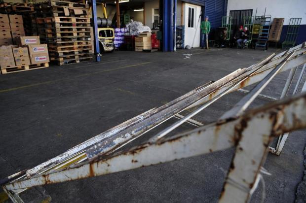 Atacadistas não recebem produtos desde segunda-feira na Ceasa Serra Marcelo Casagrande/Agencia RBS