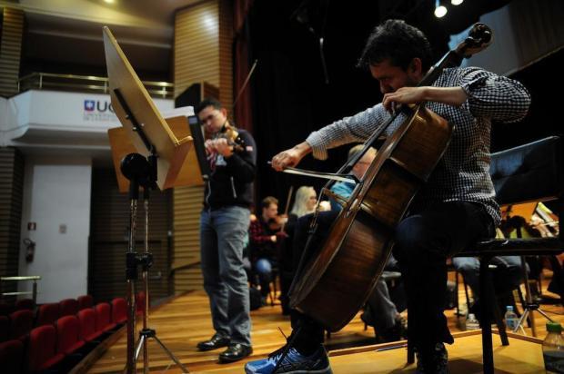Orquestra da UCS recebe solistas venezuelanos no projeto Grandes Concertos, sábado, em Caxias do Sul Marcelo Casagrande/Agencia RBS