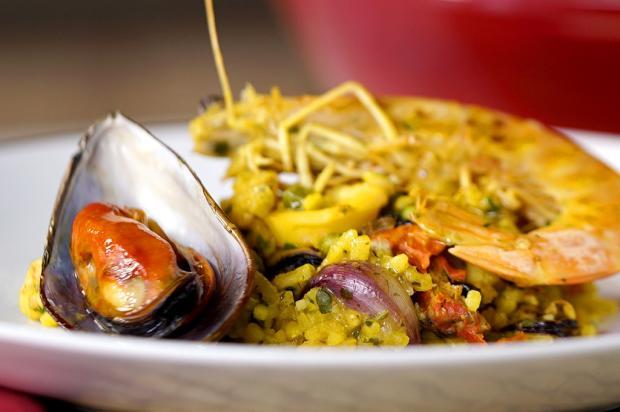 Na cozinha: sirva paella de frutos do mar Tastemade / Divulgação/Divulgação