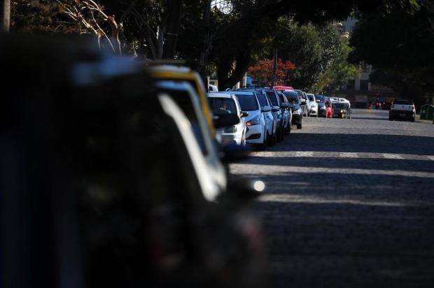 """""""Gasolina vai acabar em poucas horas"""" diz diretor de rede de postos de Caxias Felipe Nyland/Agencia RBS"""