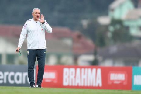 Intervalo: Um aniversário especial para o comandante caxiense da Seleção Brasileira (Lucas Figueiredo/CBF/Divulgação)
