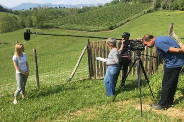 3por4: Cineasta carioca Marcia Monteiro volta a gravar na Serra neste fim de semana Legado Italiano/Legado Italiano