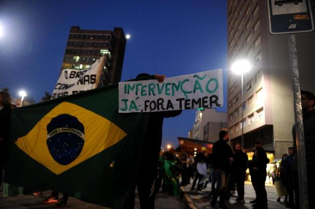 Anúncio de acordo com caminhoneiros provoca efeito contrário e Temer opta por medida extrema Lucas Amorelli/Agencia RBS