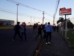 Movimento é intenso ao Santuário de Caravaggio, em Farroupilha (Alana Fernandes / agência RBS/agência RBS)