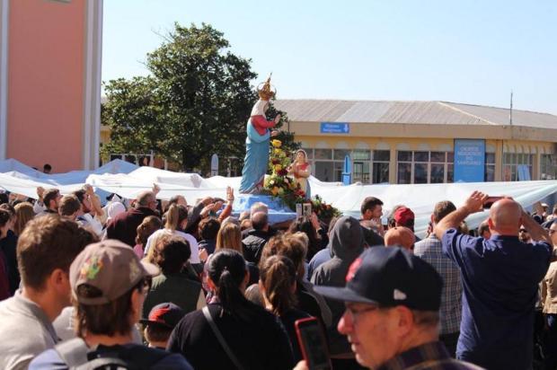 Cerca de 145 mil romeiros passaram pelo santuário de Caravaggio, em Farroupilha Leandro Avila/Divulgação