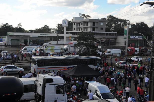 Sem previsão para o fim das manifestações na Serra Felipe Nyland/Agencia RBS