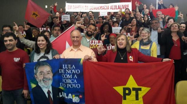 PT de Caxias faz ato de lançamento da pré-candidatura de Lula Gabriel Neves, Divulgação/