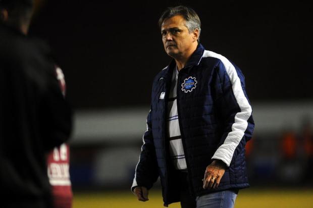 Técnico do Caxias vê confiança do time em alta para encarar o Maringá Marcelo Casagrande/Agencia RBS
