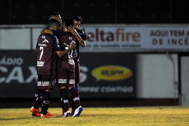 Intervalo: O Caxias cumpriu com louvor o seu primeiro objetivo na Série D Marcelo Casagrande/Agencia RBS