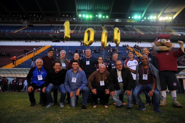 Caxias reuniu jogadores de 1976 em festividades do milésimo jogo Marcelo Casagrande/Agencia RBS