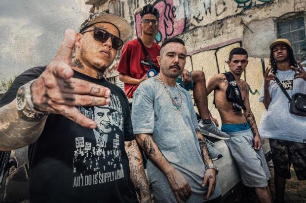 3por4: Grupo caxiense Trip54 grava videoclipe em São Paulo Vinicius Gonçalves/Divulgação