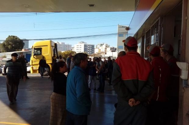 Abastecimento a veículos oficiais é retomado em posto de Caxias do Sul Aline Ecker / Agência RBS/Agência RBS