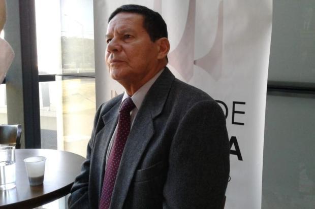 Chapa de Jair Bolsonaro, do PSL, terá general Mourão como candidato a vice-presidente Humberto Trezzi / Zero Hora/Zero Hora